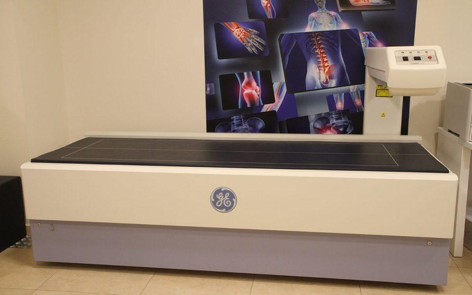 Clínica Rusadir - Máquina Escáner